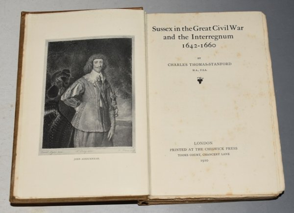 Image for Sussex in the Great Civil War and the Interregnum 1642-1660