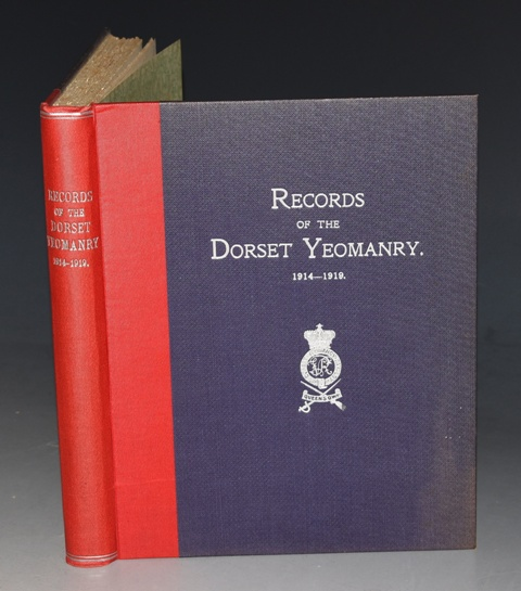 Image for Records of the Dorset Yeomanry (Queen's Own). 1914-1919.