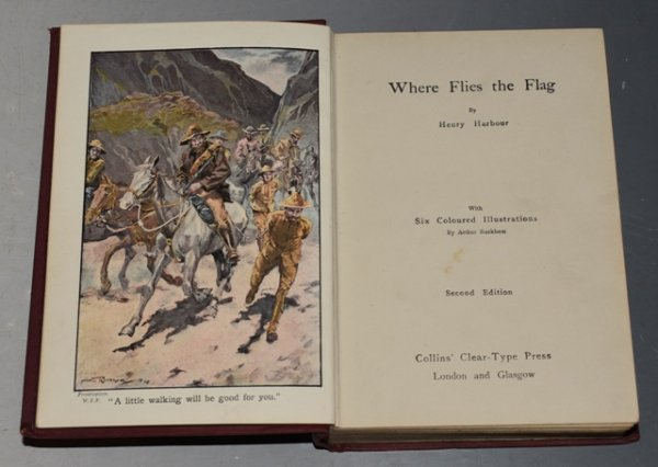 Image for Where Flies the Flag With Six Coloured Illustrations by Arthur Rackham.