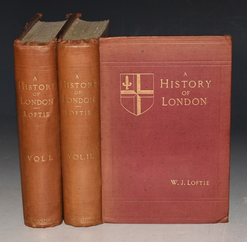 Image for A History of London. With Maps and Illustrations. In Two Volumes.