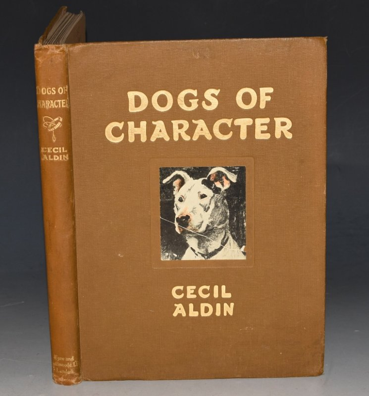 Image for Dogs of Character. Written and illustrated by Cecil Aldin.