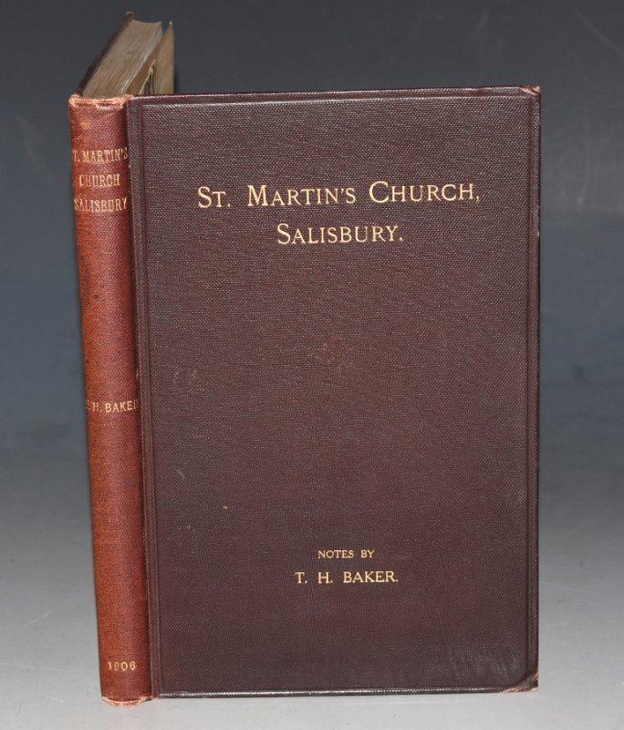 Image for Notes on St. Martin's Church and Parish, Salisbury
