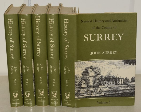 Image for The Natural History and Antiquities of the County of Surrey Introduction by J. L. Nevinson. Complete in Five Volumes.