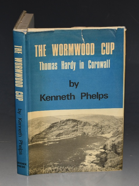 Image for The Wormwood Cup. Thomas Hardy in Cornwall. A Study in Temperament, Topography and Timing. Signed.