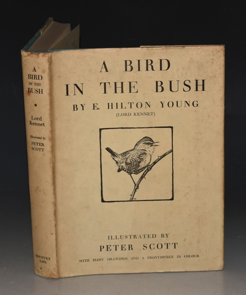 Image for A Bird in the Bush (Lord Kennet of the Dene.) With Illustrations by Peter Scott.
