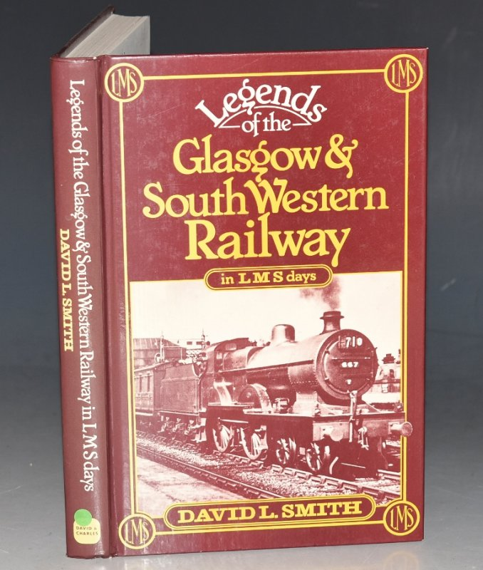 Image for Legends of the Glasgow and South Western Railway in L.M.S. Days