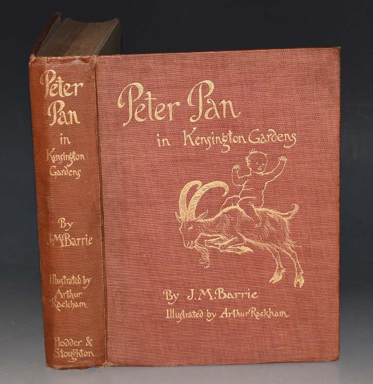 Image for Peter Pan in Kensington Gardens. From The Little White Bird. With drawings by Arthur Rackham.