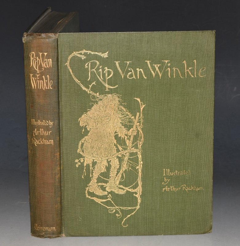 Image for Rip Van Winkle With Drawings by Arthur Rackham.