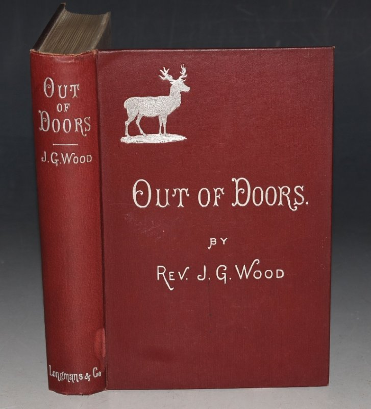 Image for Out of Doors. A Selection of Original Articles on Practical Natural History. New Edition.
