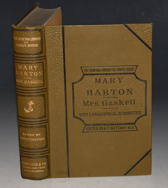Image for Mary Barton: A Tale of Manchester Life With full biographical introduction by the editor. The Minerva Library of Famous Books.