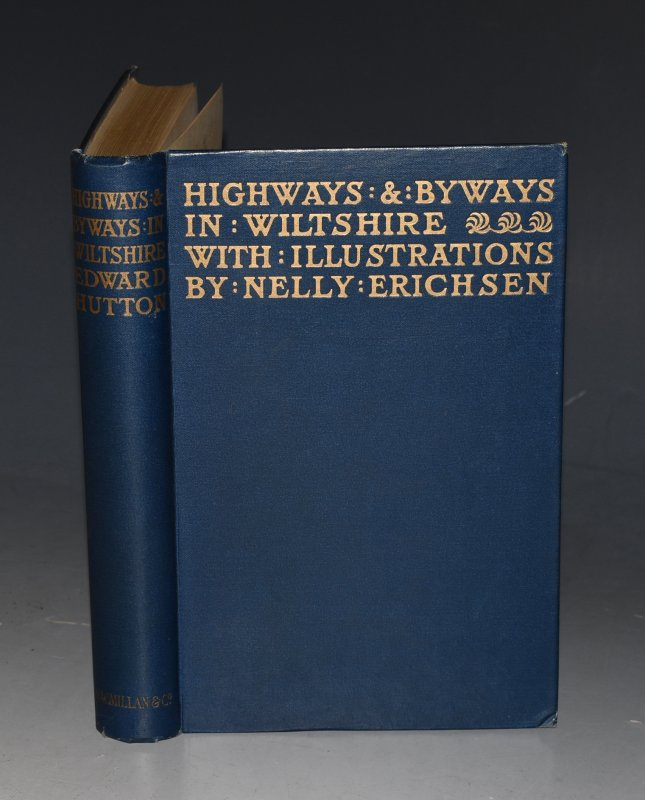 Image for Highways & Byways in Wiltshire. Illustrations by Nelly Erichsen.