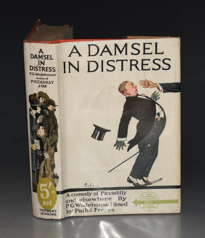Image for A Damsel In Distress Herbert Jenkins' Green Labels.