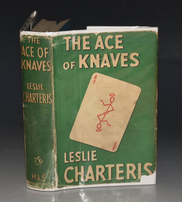 "Image for The Ace of Knaves The ""Saint"" Books. SIGNED."