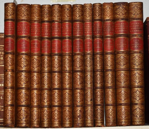 Image for The Modern History of South Wiltshire The History of Modern Wiltshire. Six Volumes Bound in Twelve Parts. Vol.1, pt.1 Hundred of Mere. Vol.1, pt.2 Hundred of Meylesbury. Vol.2, pt.1 Hundred of Branch & Dole. Vol.2 pt.2 Everley, Ambresbury, & Underditch. Vol.3 Hundred of Westbury, Warminster, South Damerham & Cawdon. Vol.4, pt.1 Hundred of Dunworth. Vol.4 pt.2 Hundred of Chalk. Vol.5, pt.1 Alderbury. Vol.5, pt.2 Hundred of Frustfield. Vol.6, pts.1 & 2; City of Salisbury.