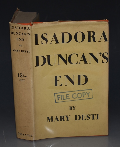 Image for Isadora Duncan's End