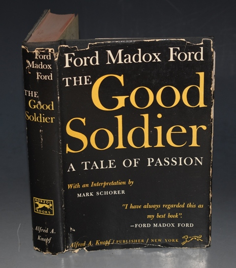 Image for The Good Soldier A Tale of Passion. With an interpretation by Mark Schorer.