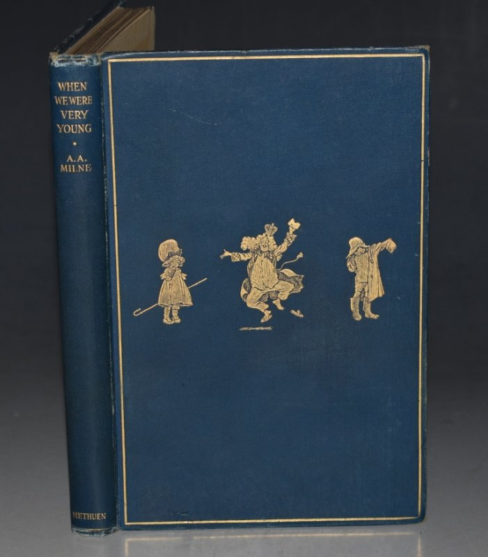 Image for When We Were Very Young. With decorations by Ernest H. Shepard. First edition, (FIRST ISSUE.)