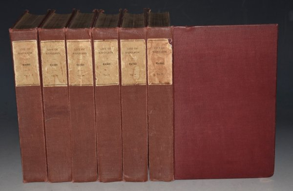 "Image for The Life of Napoleon In Six Volumes. ""Imperial Edition De Luxe,"" Limited to One Thousand Copies for Great Britain and America."