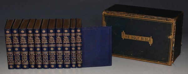 Image for The Holy Bible, The Handy-Volume Edition 11 Volumes In Leather-Box Case.