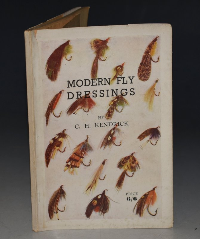 Image for Modern Fly Dressings With drawings by the author.