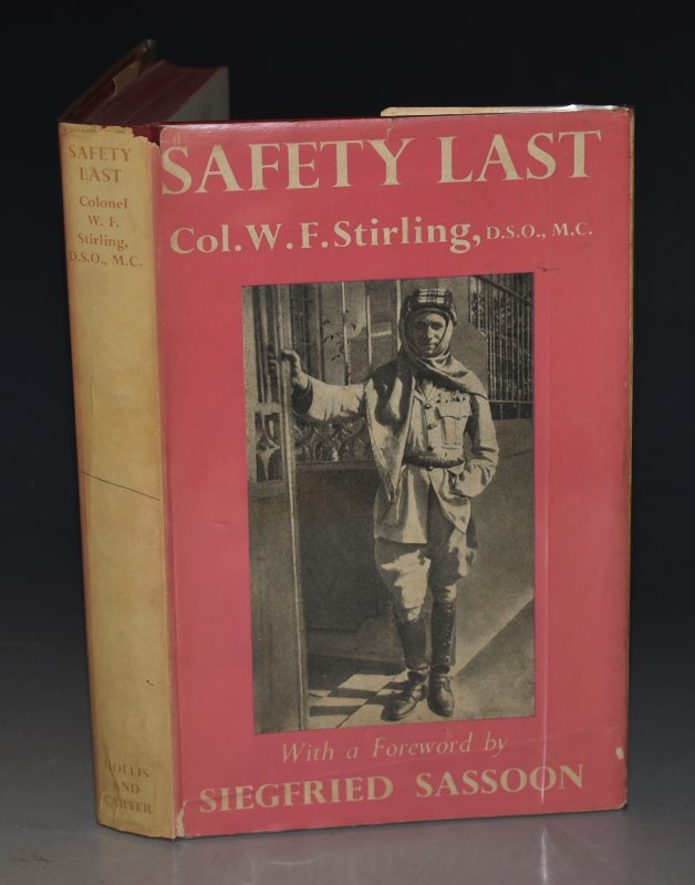 Image for Safety Last With a foreword by Siegfried Sassoon. And an Epilogue by Lord Kinross.