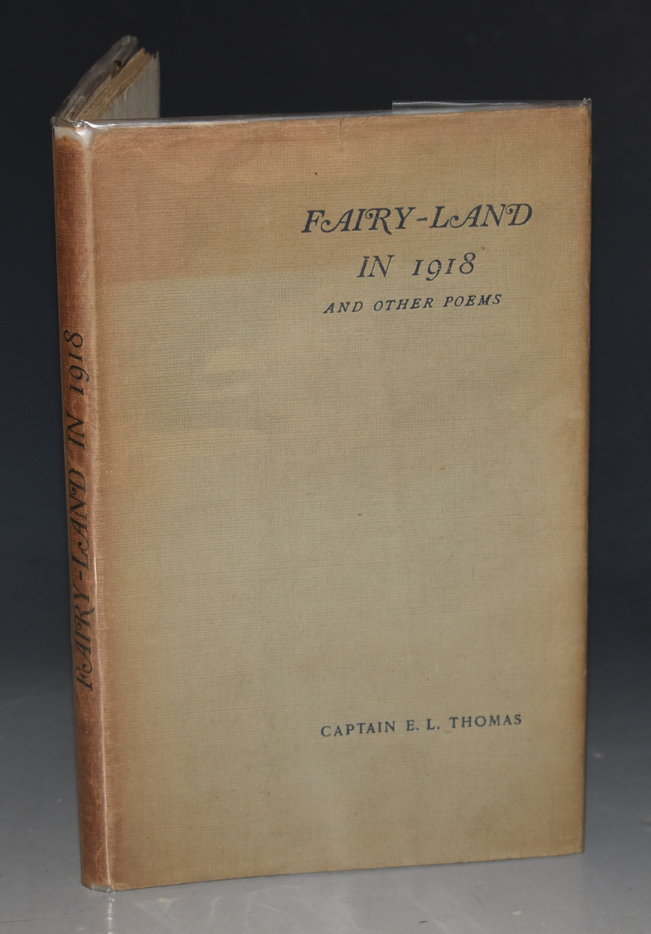 Image for Fairyland in 1918 and Other Poems Limited edition, signed by Author.