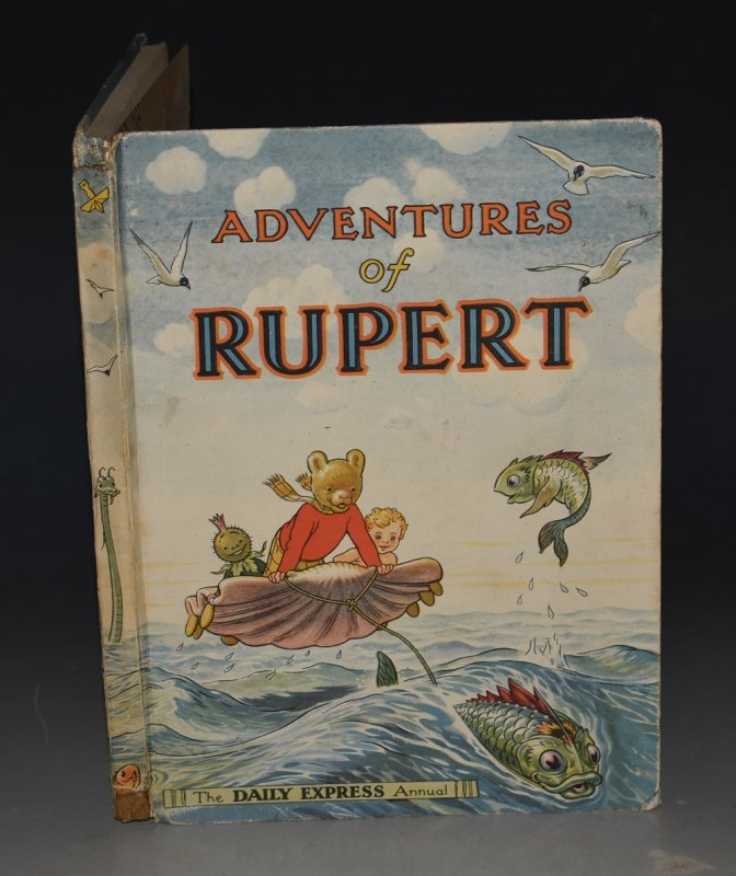 Image for Adventures of Rupert.