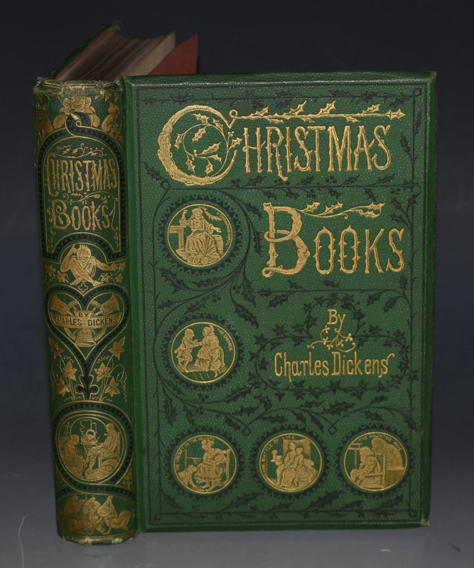 Image for Christmas Books With Illustrations by Sir Edwin Landseer, Maclise, Stanfield, F. Stone, Doyle, Leech and Tenniel.