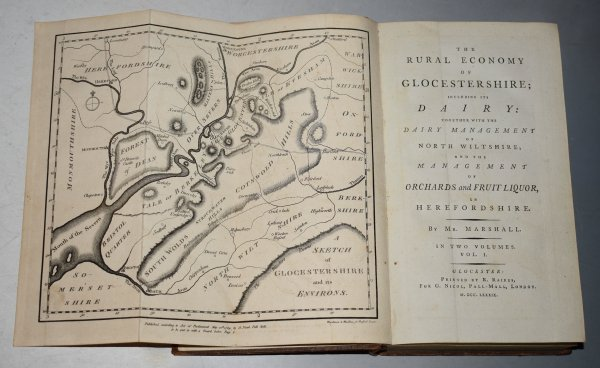 Image for The Rural Economy of the Glocestershire; Including its Dairy: Together with the Dairy Management of North Wiltshire; and the Management of Orchards and Fruit Liquor, in Herefordshire. In Two Volumes.