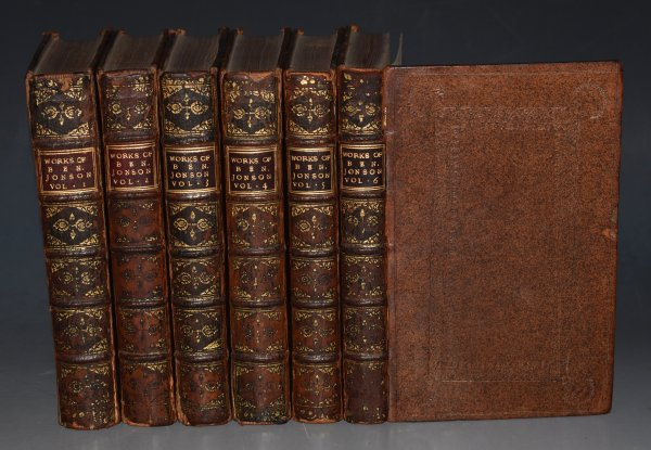 Image for The Works of Ben. Johnson. In Six Volumes. Adorn'd with Cuts.