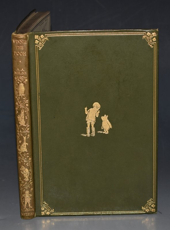 Image for Winnie the Pooh. With Decorations by Ernest H.Shepard. First edition of this popular book, in original rare deluxe binding.