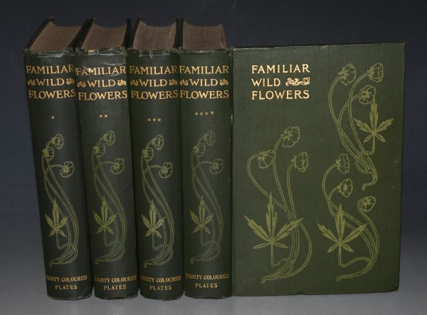 Image for Familiar Wild Flowers. Figured and Described by F.Edward Hulme. Complete Eight Volume bound in Four volumes with 320 coloured plates.