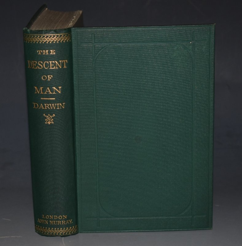 Image for The Descent of Man. And Selection in Relation to Sex. Second Edition, Revised and augmented. Twenty-First Thousand. With Illustrations.