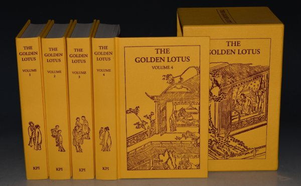 Image for The Golden Lotus A Translation, from the Chinese Original, of the Novel Chin P'ing Mei. In Three Volumes. Cased.