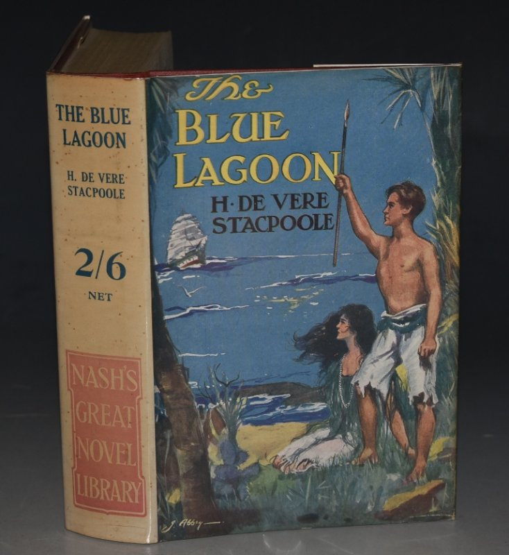"Image for The Blue Lagoon ""Nash's Great Novel Library."""