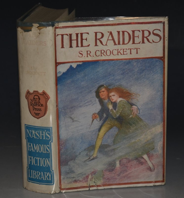 "Image for The Raiders ""Nash's Famous Fiction Library."""