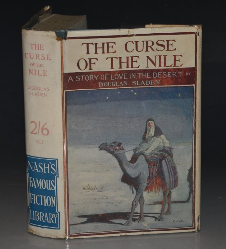 "Image for The Curse of The Nile ""Nash's Famous Fiction Library."""