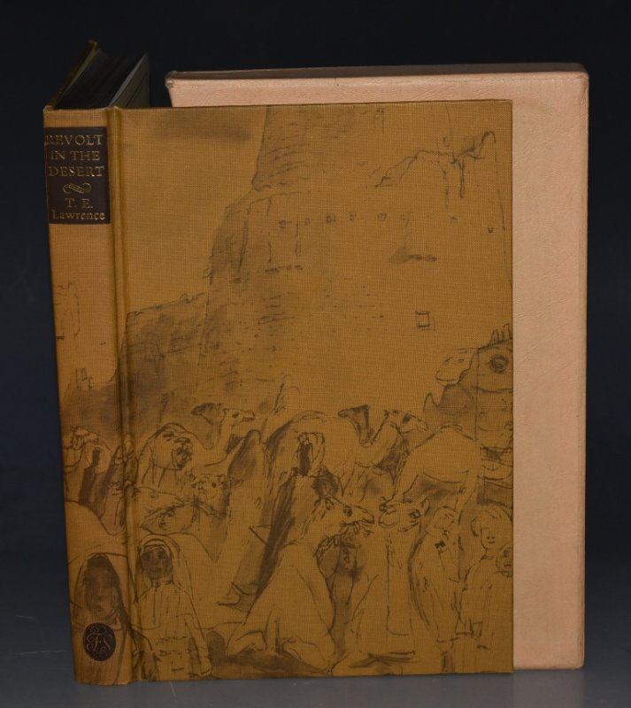 Image for Revolt in the Desert. Introduction by R.Trevelyan. Photographs by T.E.Lawrence and others. Sketches by Edward Bawden.