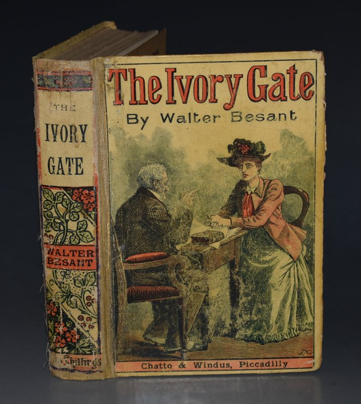 "Image for The Ivory Gate ""Yellowbacks."""