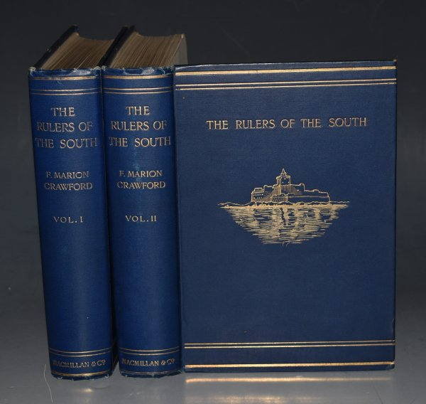 Image for The Rulers of The South Sicily, Calabria, Malta. With a Hundred Original Drawings by Henry Brokman. In Two Volumes.