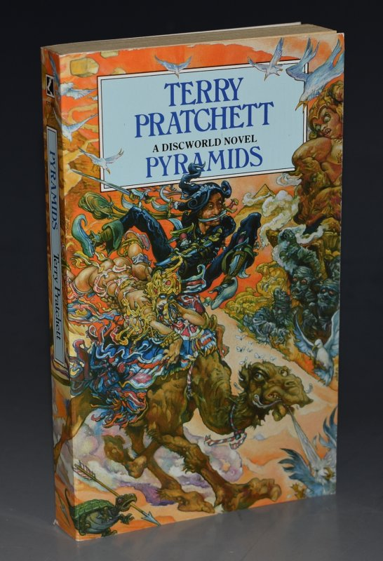 Image for Pyramids A Discworld Novel. Signed by the Author.