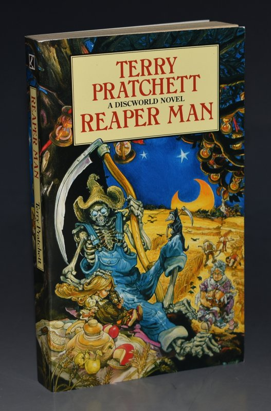 Image for Reaper Man A Discworld Novel. Signed by the Author.