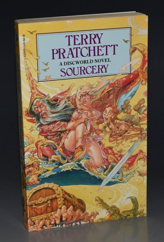 Image for Sourcery A Discworld Novel. Signed by the Author.