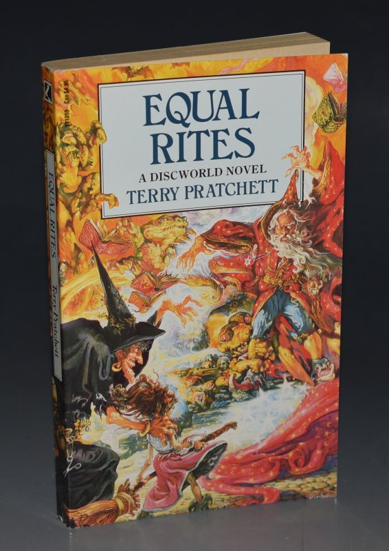 Image for Equal Rites A Discworld Novel. Signed by the Author.