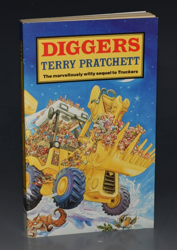 Image for Diggers The Marvellously Witty Sequel to Truckers. Signed by the Author.