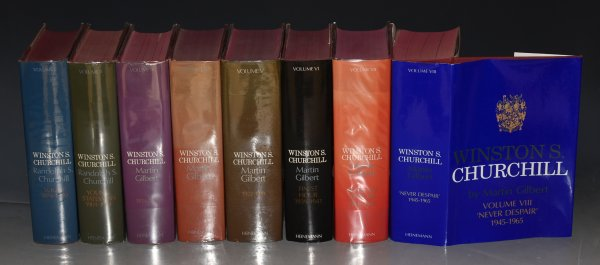 Image for Winston S.Churchill 1874 - 1965. Complete vols.1-8.