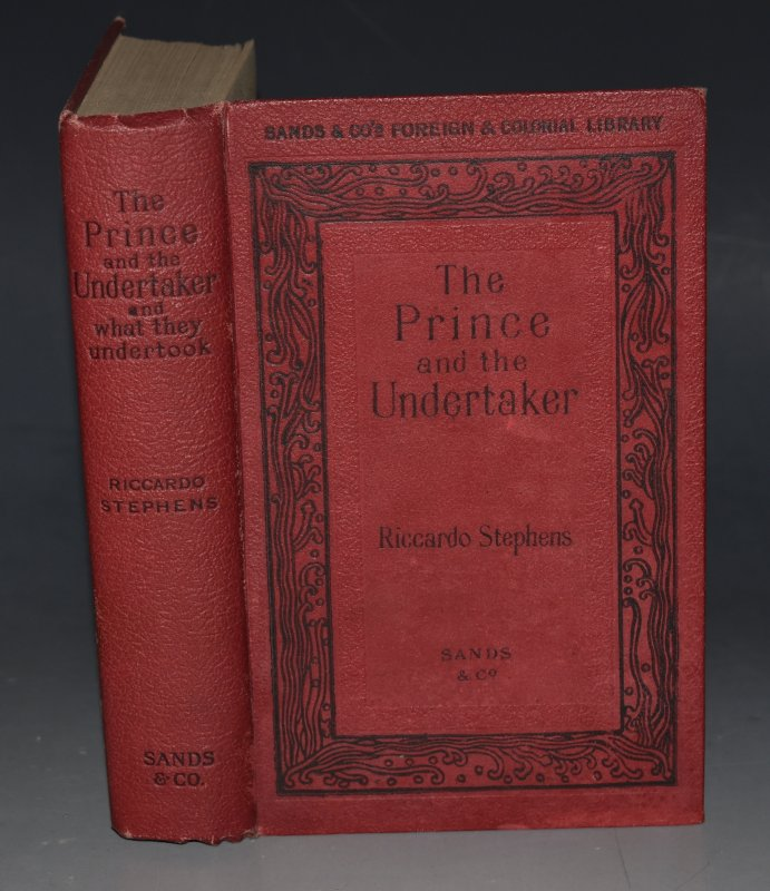 Image for The Prince and the Undertaker And what they Undertook.