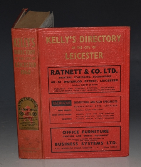 Image for Kelly's Directory of The City of Leicester 1960