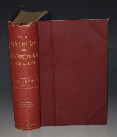 Image for The Irish Land Law and Purchase Acts 1860 to 1891 Together with the Rules and Forms Issued Under Each Act. Edited with notes.. and an appendix... Second edition.