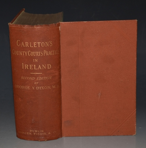Image for The Jurisdiction and Procedure of the County Courts in Ireland. Second Edition.